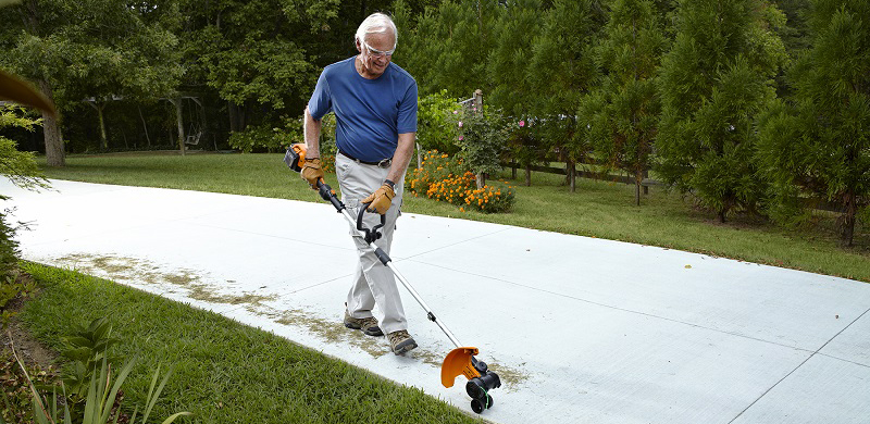 WORX cordless grass trimmer