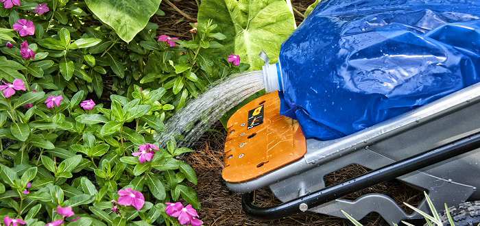 Aerocart Watering Outdoor Plants