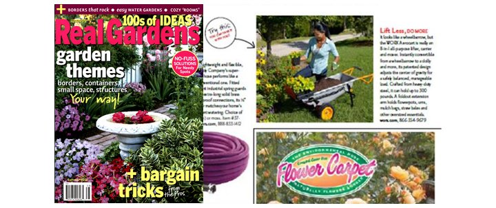 WORX Aerocart in Real Garden Magazine