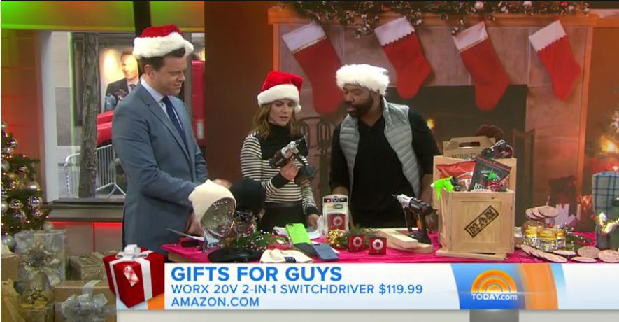 WORX Switchdriver on the TODAY Show