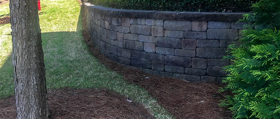Natural Lawn Edging