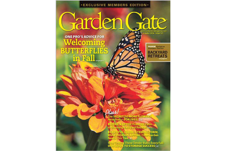 LeafPro Universal Leaf Collection System in Garden Gate Magazine