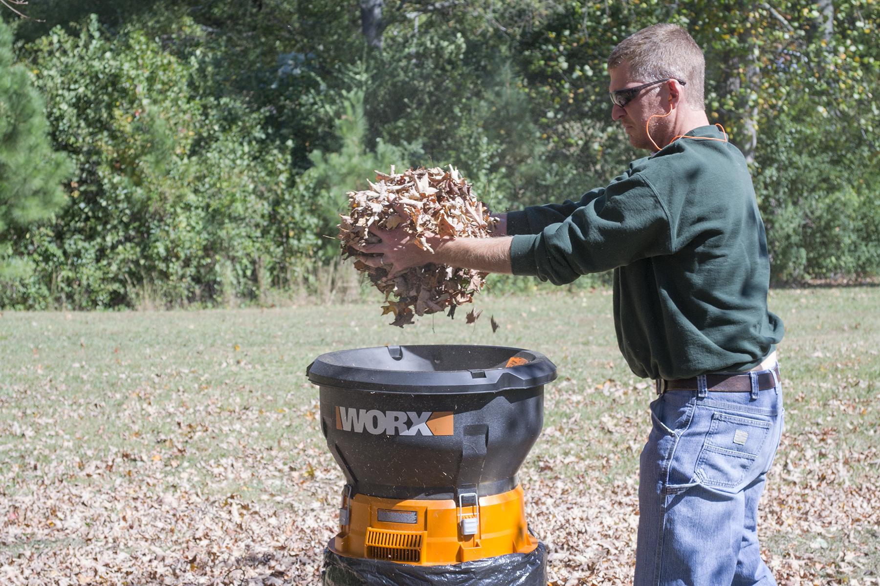WORX Leaf Mulcher