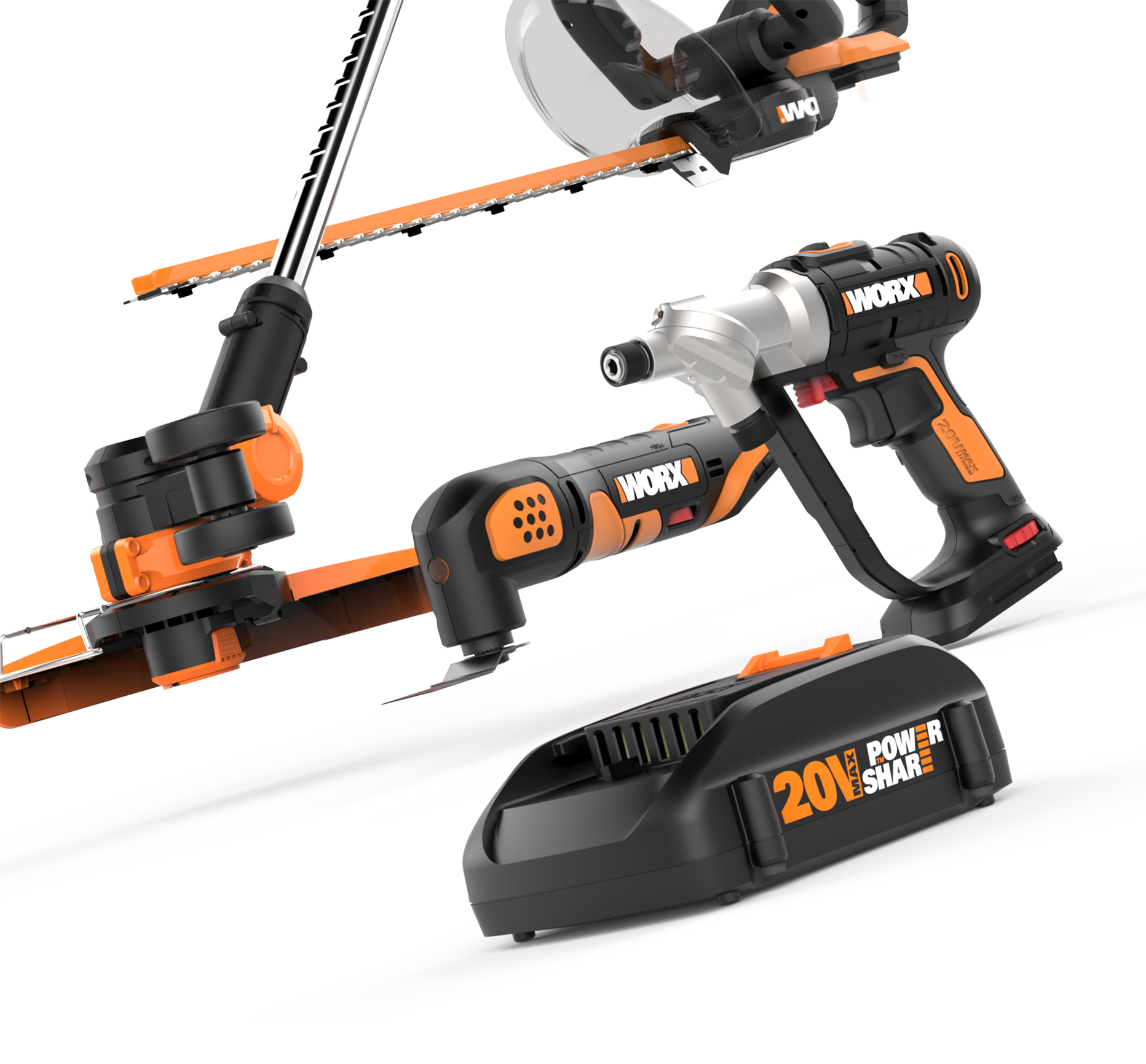 WORX Tool Battery Powershare