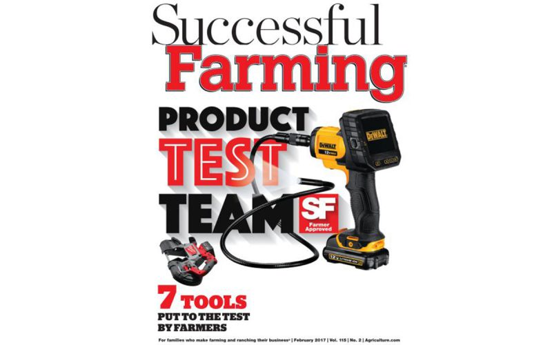 Successful Farming Magazine Features WORX