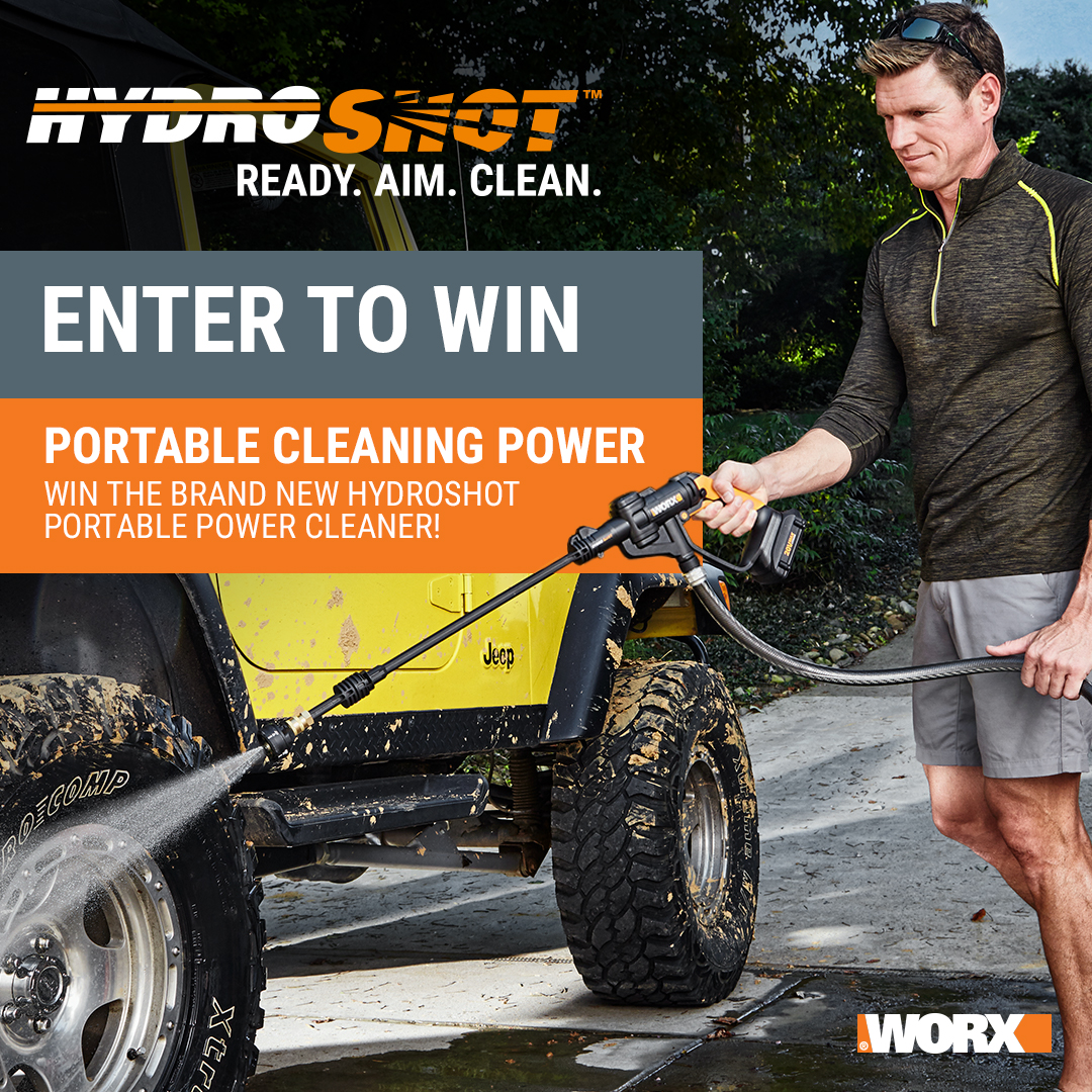 20V Hydroshot Power Cleaner Sweepstakes