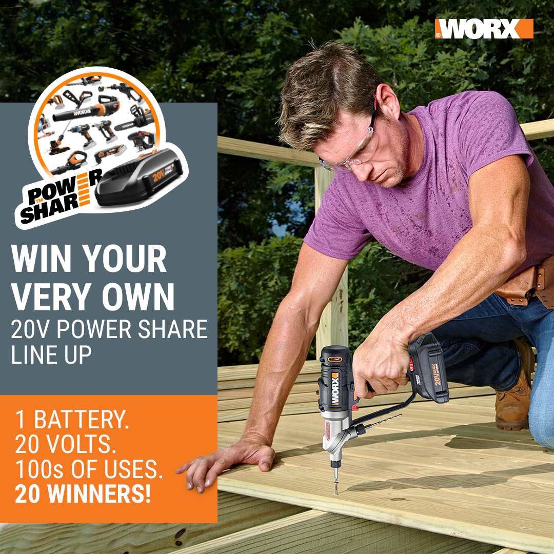20V Power Share Sweepstakes