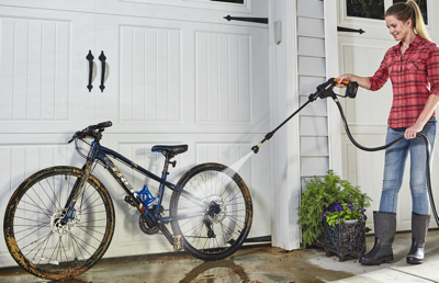 Hydroshot Cleaning Bike