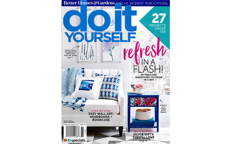 do it yourself magazine winter 2017