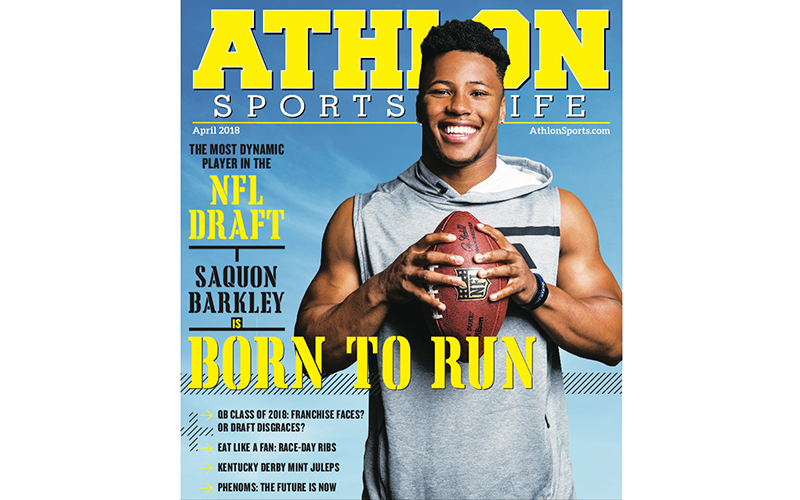 Athlon Sports-Cover-April-2018