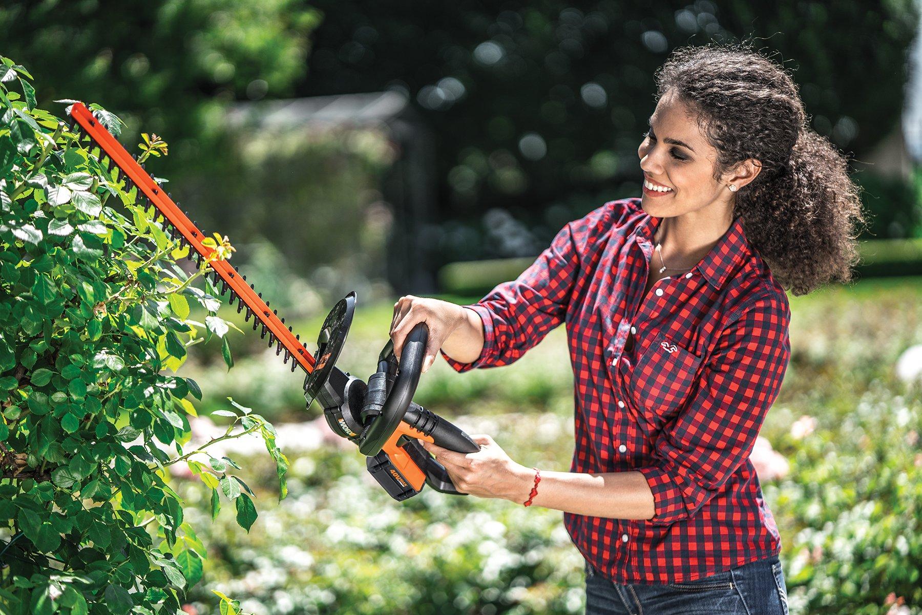 WORX 40V Hedge Trimmer