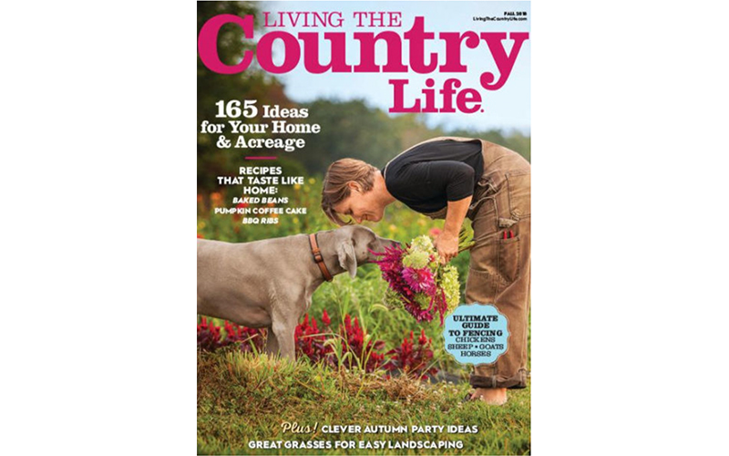 Living The Country Life - Cover - Fall 2018