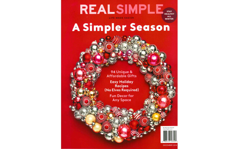 Real Simple - Cover - December 2018