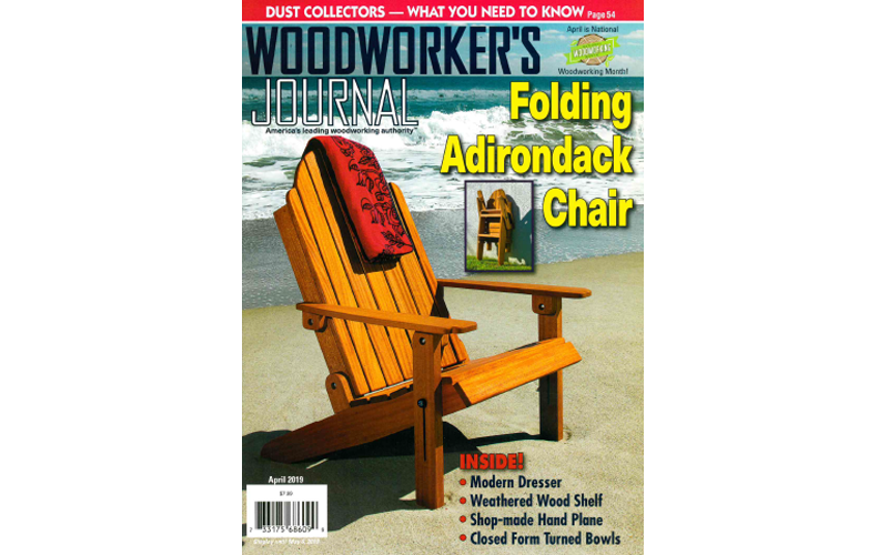 Woodworkers Journal April 2019