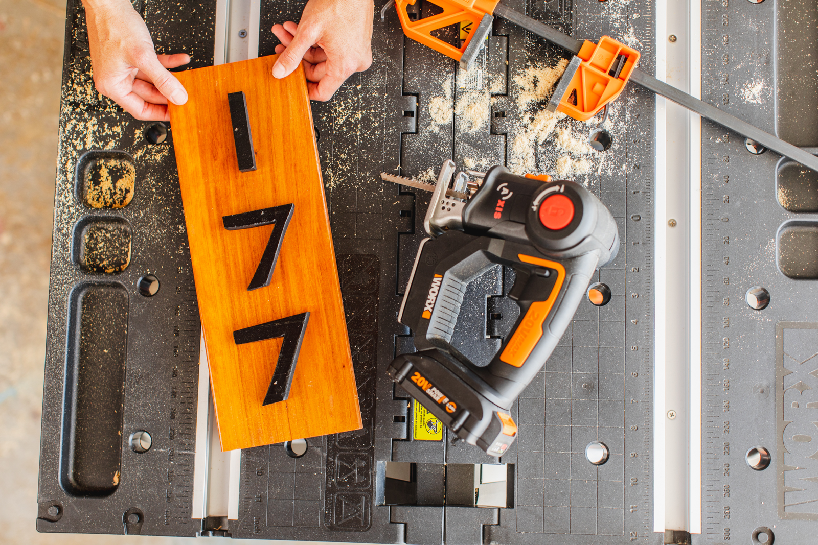 DIY House Numbers, Which Saw For Which Project?